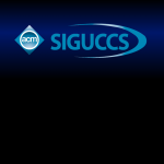SIGUCCS watch background with blue stripe