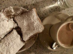 Beignets at Cafe du Monde, New Orleans