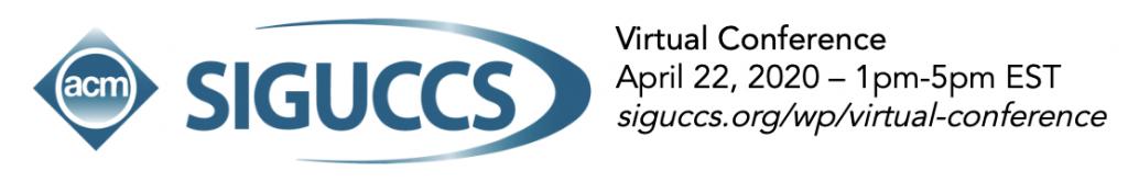 SIGUCCS Virtual Conference logo