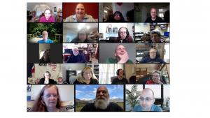 SIGUCCS members in Zoom hangout